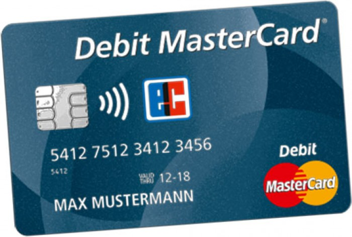 Debit MasterCard Deutsche Bank 516